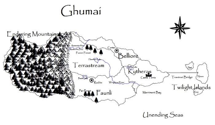 Map of Ghumai
